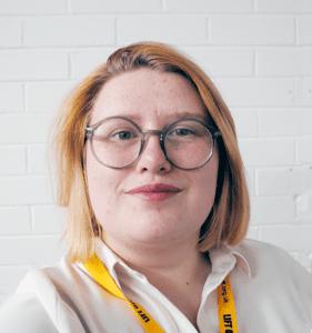 Headshot of Helen King