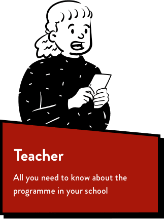 Cartoon Peep, text reads Teacher All you need to know about the programme in your school